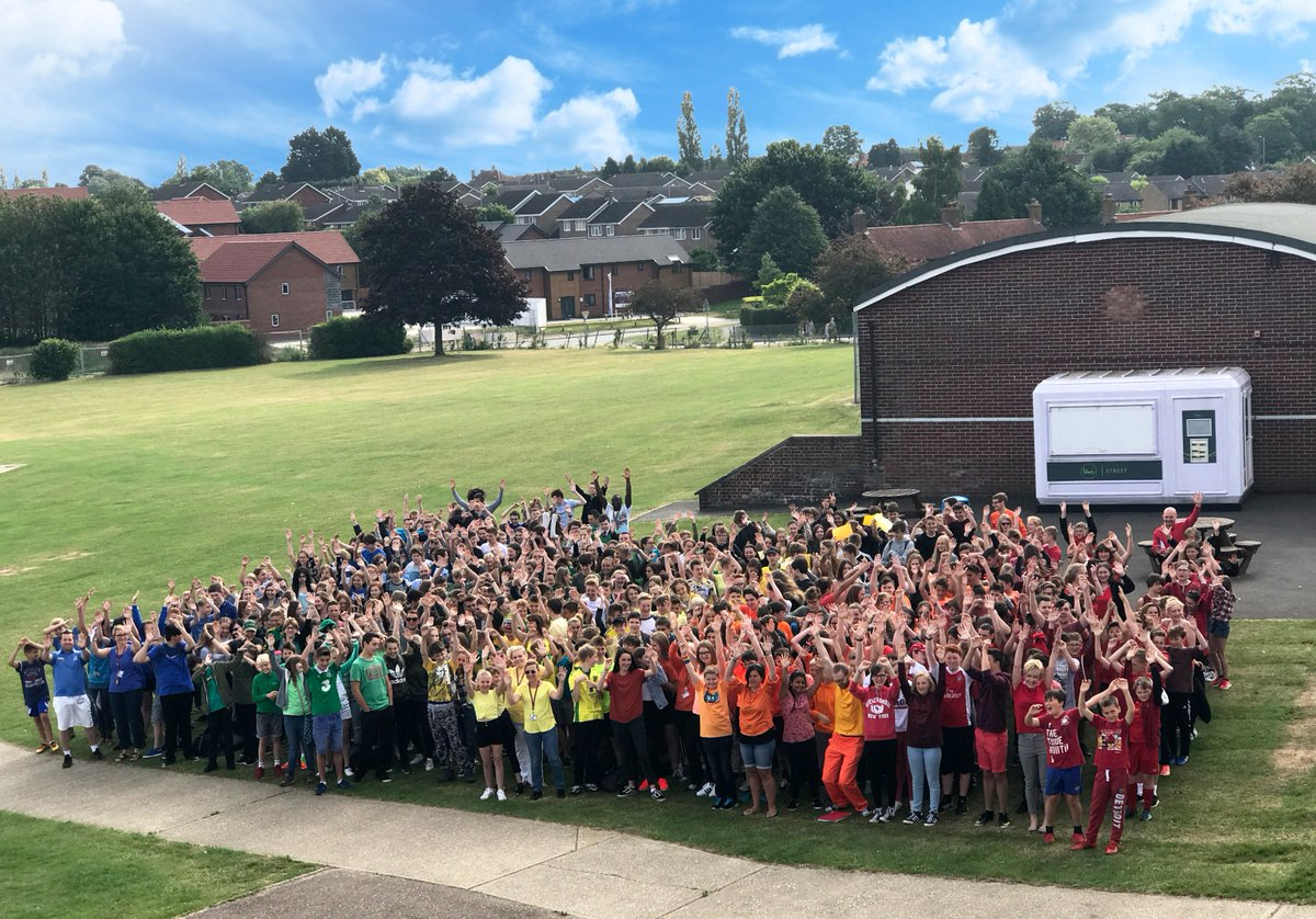 School Diversity Day! We've gathered in rainbow colours to show we support and celebrate LGBT+ equality. #DressForDiversity @justlikeus_uk