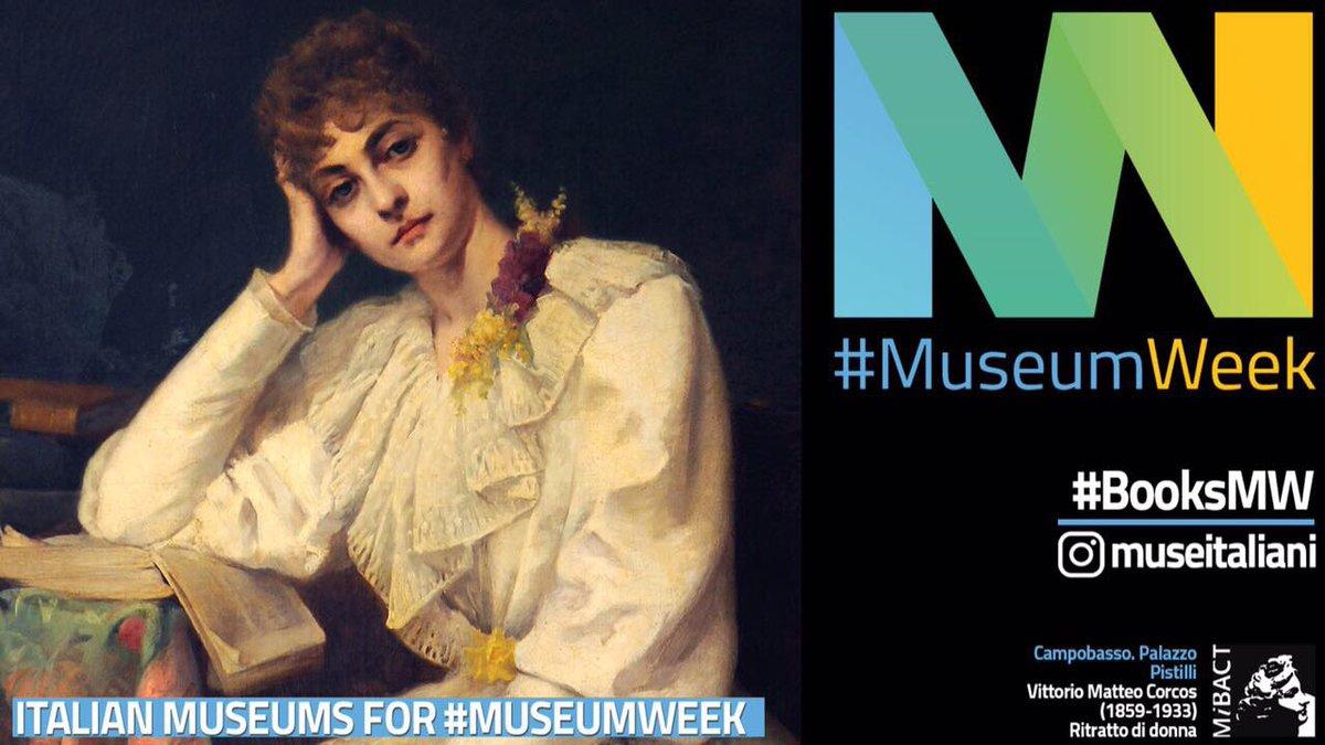 •Penso che il paradiso sia leggere continuamente• #booksMW #museumweek...