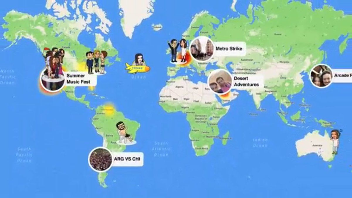 New @Snap Feature: Snap Map   See where in the world your friends are at and what they&#39;re up to   #SocialMedia #ART #BIZBoost <br>http://pic.twitter.com/16QN8eOa8I