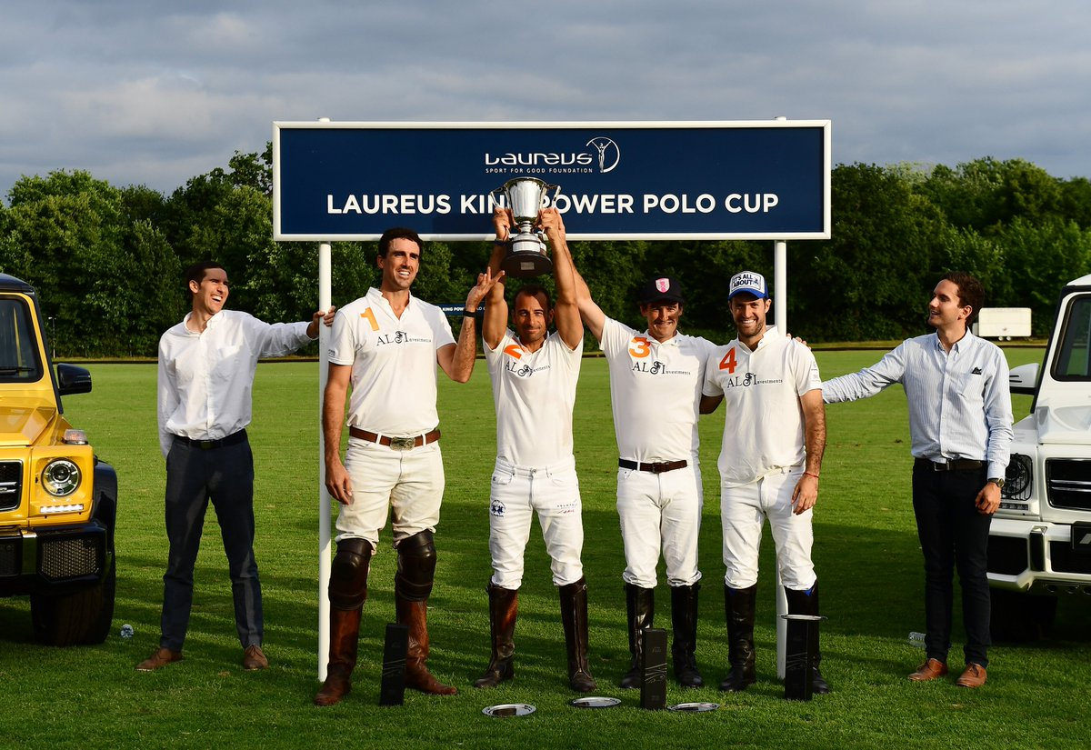 Laureus Legends join Argentine Polo stars  to raise funds for a good c...