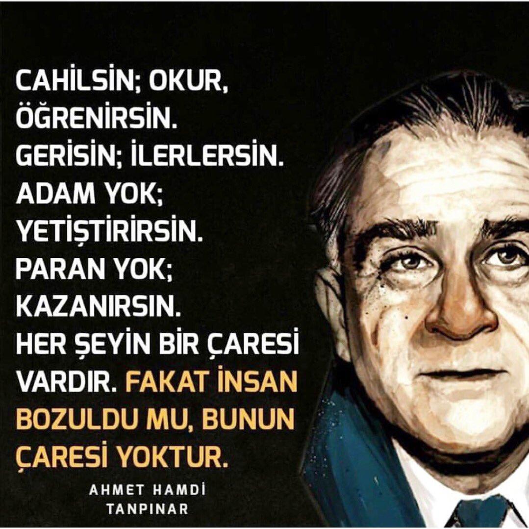 116. Doğum günü vesilesiyle Edebiyatımızın ölümsüz ismi #AhmetHamdiTan...