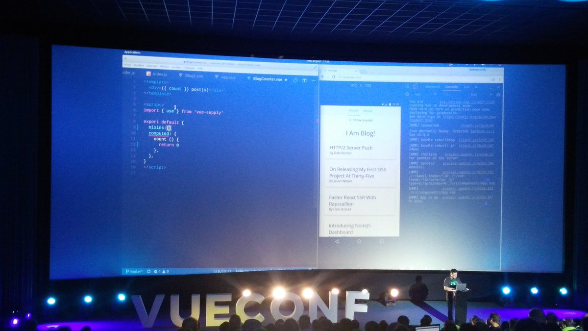 What we learned at VueConf - Vue js Feed