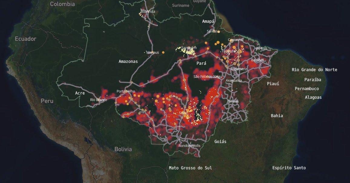 Degradation of the Amazon Rainforests  http://www. ecoclimax.com/2017/06/degrad ation-of-amazon-rainforests.html?utm_source=dlvr.it&amp;utm_medium=twitter &nbsp; …  #forests <br>http://pic.twitter.com/1w0SerhnLe