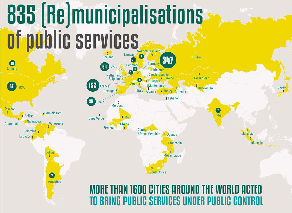 New report: Reclaiming #PublicServices: How cities and citizens are successfully turning back #privatisation.  http://www. tni.org/reclaiming-pub lic-services &nbsp; … <br>http://pic.twitter.com/vVdzERa0nI