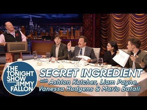 #Secret #Ingredient #with #Ashton Kutcher, Liam Payne, #Vanessa Hudgens and #Mario Batali  http:// sharewww.com/4v4wr  &nbsp;  <br>http://pic.twitter.com/famsrqV5a6
