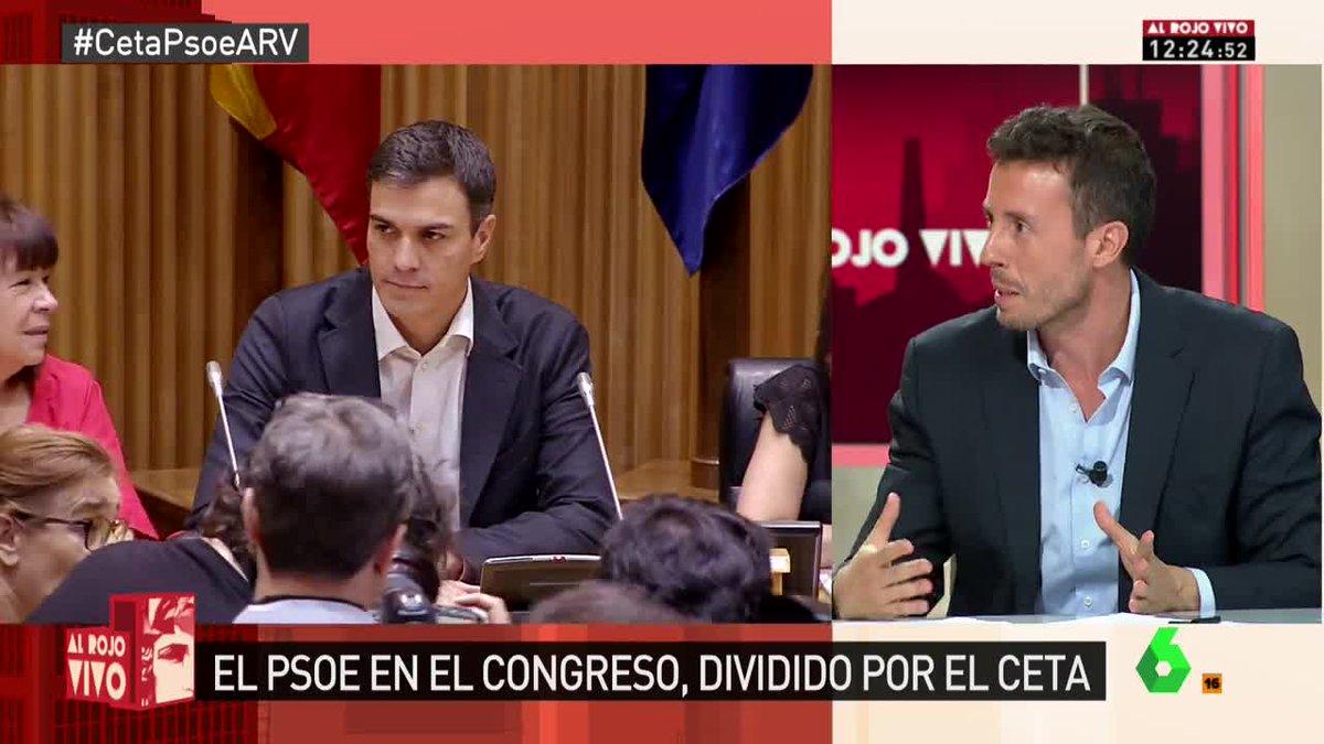 🔴 @aperezlobato: 'Con un solo país que diga que no al CETA, el acuerdo...