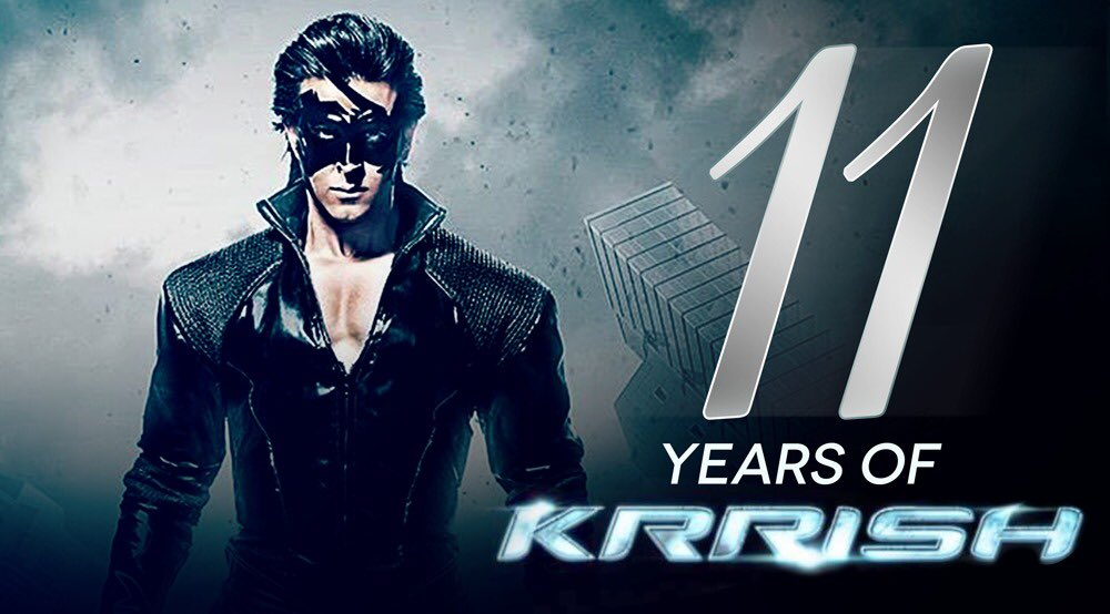 #11YearsOfKrrish, a phenomena that will always be! Thank you for all the love and support for all these years. The adventure has just begun!
