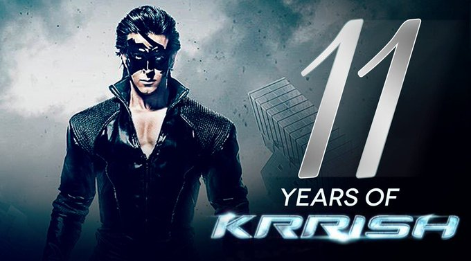 #11YearsOfKrrish, a phenomena that will always be! Thank you for all the love and support for all these years. The adventure has just begun! https://t.co/lJpRAoUNTf