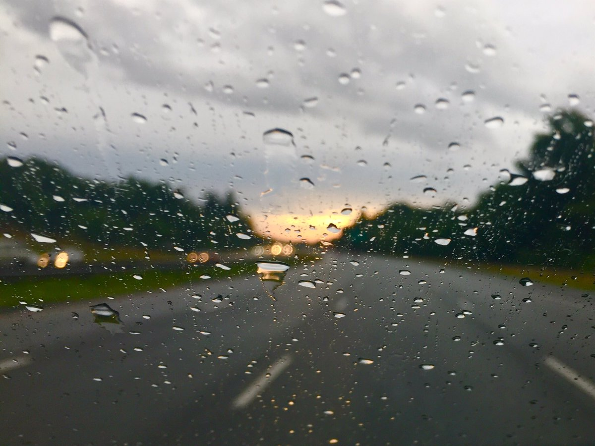 Seeing the sunshine through the rain... off to Annapolis for today's #...