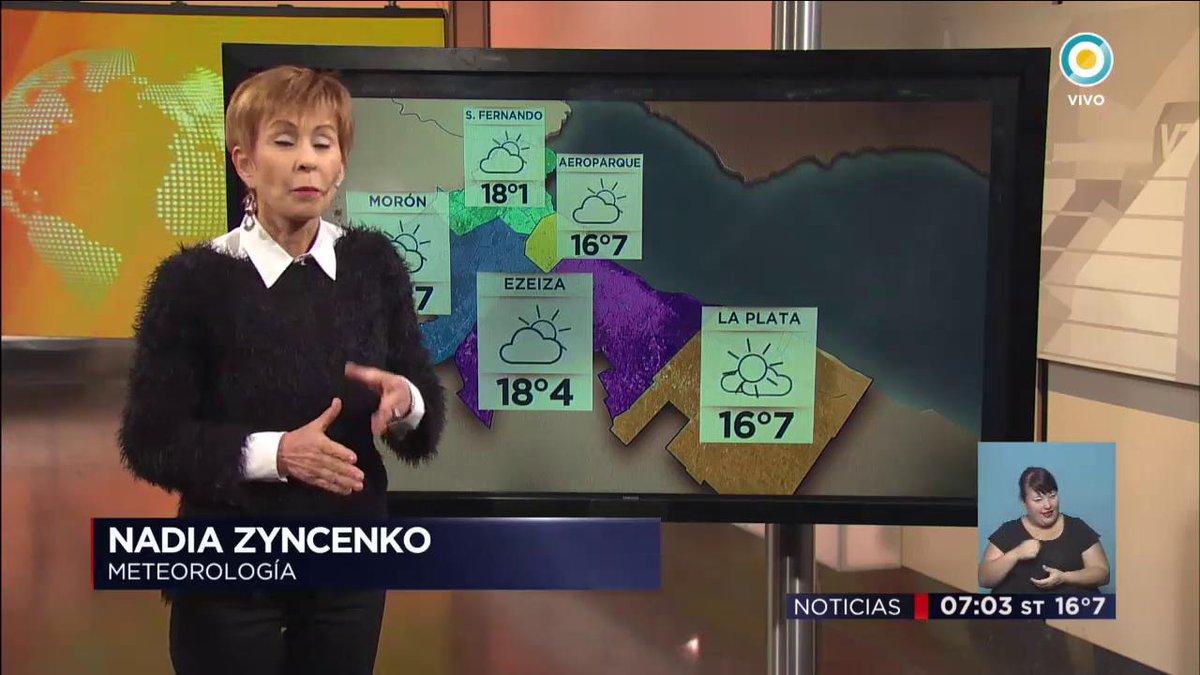 #SeVieneLaLluvia #HoyLlueve #ElPronósticoDeNadia #ViernesConLluvia #Bu...
