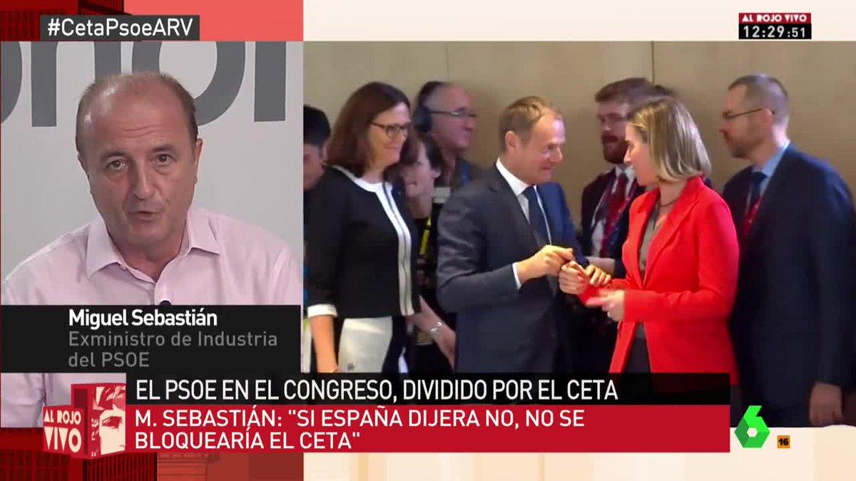 🔴 @migsebastiang: 'El PSOE debe estar a favor de la globalización' #Ce...