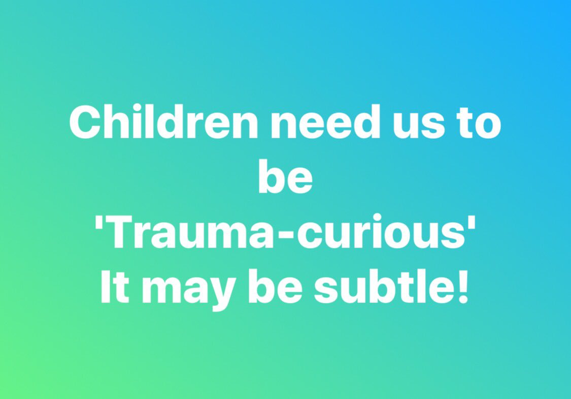 My interview by @SueAtkins where I discuss caring for &amp; #parenting #children who may have experienced some #trauma  https:// twitter.com/sueatkins/stat us/878130763681611778 &nbsp; … <br>http://pic.twitter.com/1ADYkHAKLC