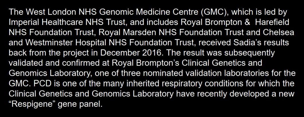 Ahead of #PETgenomic with @GenomicsEngland - https://t.co/wPS6b62oPq - @RBandH #raredisease diagnosis via #100KGP at https://t.co/5Au2oSweA1 https://t.co/QlJLDUnphl