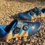 Now these are my kinda shoes, inspired by the mythical mountains of the Tour de France! Let's go! 🐮🇫🇷🙌🏻 #izoard #maviccosmic #cycling