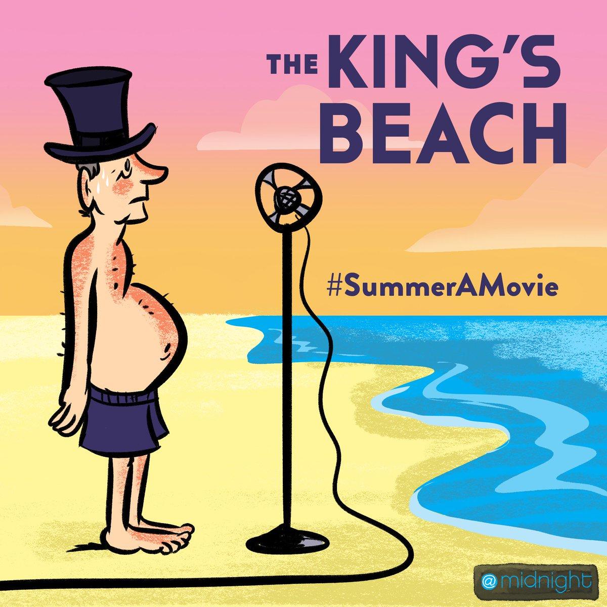 The King's Beach #SummerAMovie @midnight https://t.co/QOJXwnHgGE