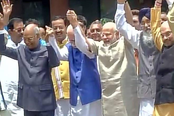LIVE: NDA pick #RamNathKovind files nomination papers in presence of PM Narendra Modi, LK Advani https://t.co/ZRcR3du8dh