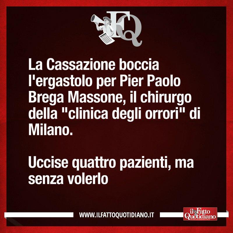 LA FRASE DEL FATTO QUOTIDIANO DI OGGI https://t.co/PJ9uI9iKED #FattoQu...