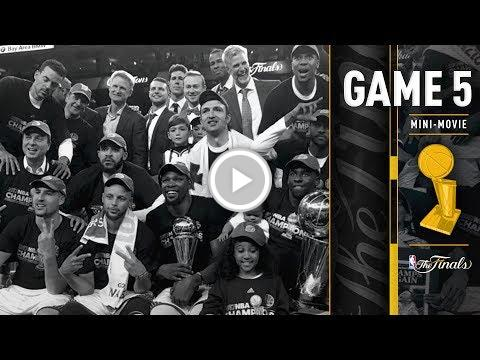 2017 NBA Finals Game 5 Mini-Movie | The Warriors Win the 2016-2017 NBA...