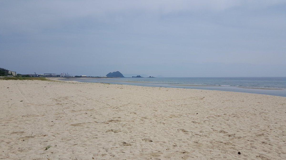虹ヶ浜をお散歩しました。 https://t.co/YVRmq9kB0t