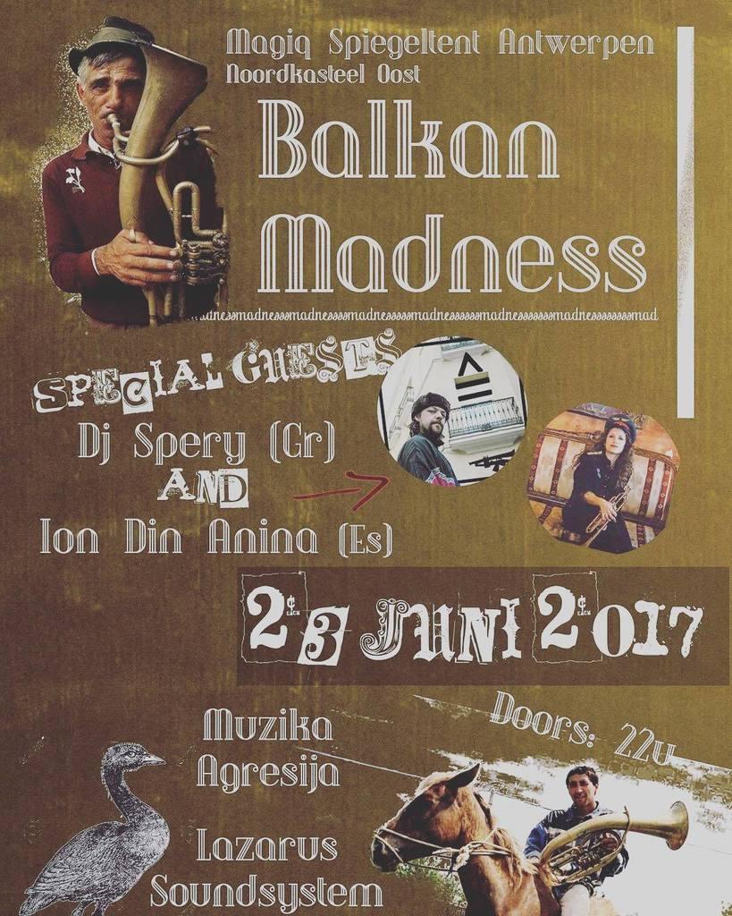 Today in Antwerp w/ @dj_spery  BalkAn MadNEss   Summer Tour 2017  #iondinanina #babushka #dj #djset #summer…  http:// ift.tt/2tANtXY  &nbsp;  <br>http://pic.twitter.com/TmgGrbtmdp