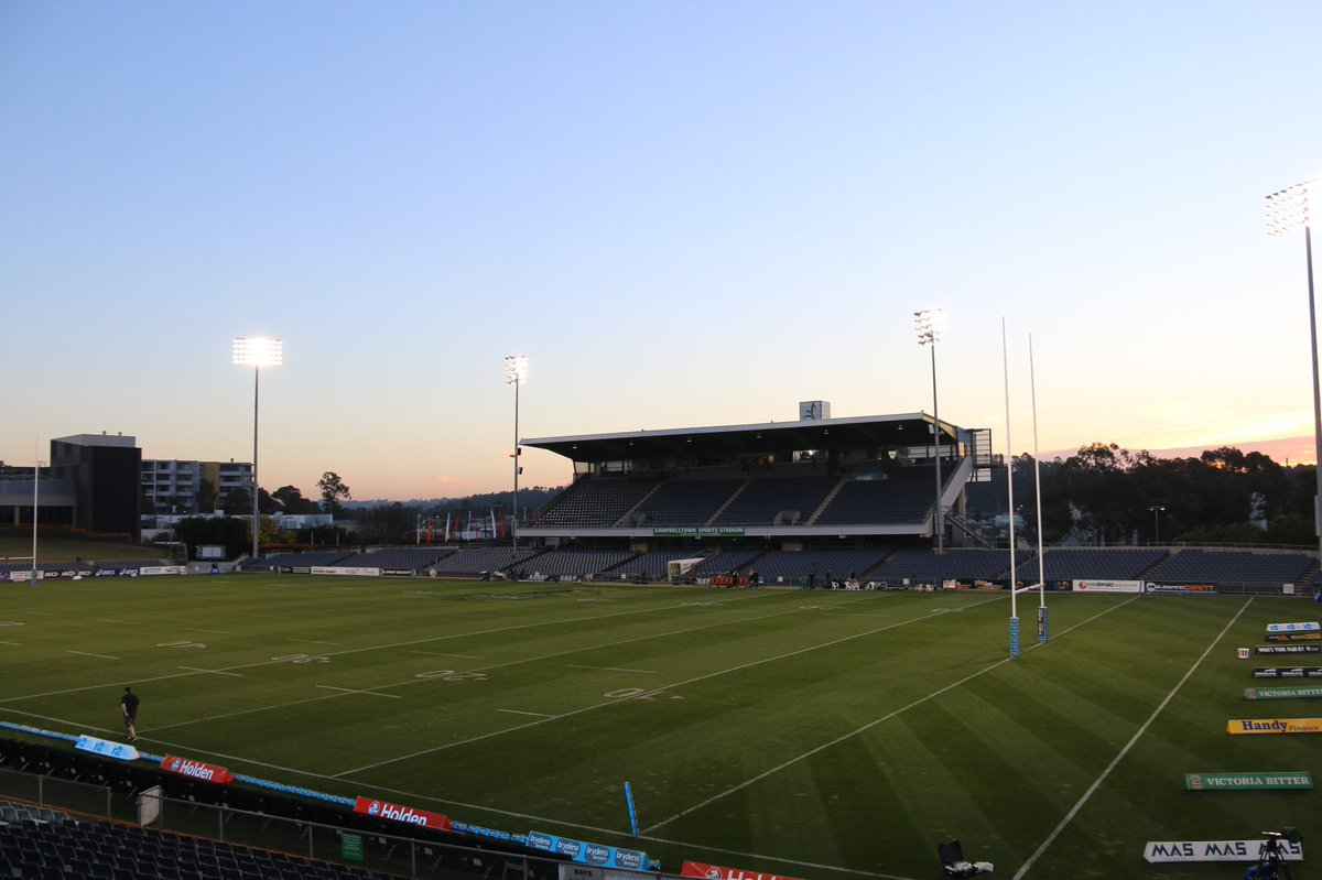 Gates are open! 🙌  Ready for a big night ahead here at Campbelltown Sp...