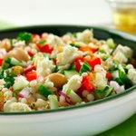 Rosemary-feta pearl couscous summer salad | Food & Recipes | @TheHSF Blog https://t.co/FVP1jnVPQ9