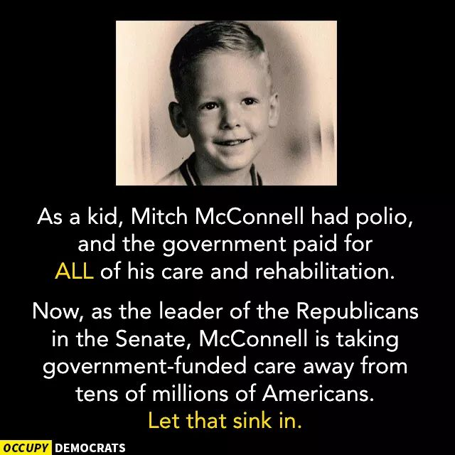And Paul #Ryan grew up on #SocialSecurity bc his dad had died  Both he and #McConnell are disturbed  RT @milesjreed: <br>http://pic.twitter.com/nG2QZohJYa