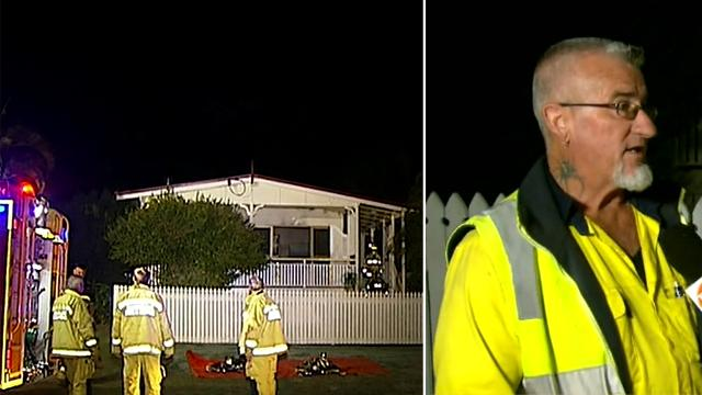 Hero neighbour rescues wheelchair users trapped in north Brisbane house fire. Legend! 👍 #GoodNews https://t.co/p43IcVJi4X