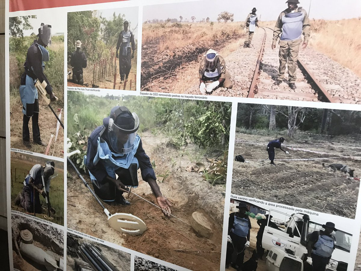 12 SDG are at risk in Angola due to land mines in 1400 areas. EU, UK, US, J, N, CH with UNs #UNDP #UNICEF together to help GoA says UNRC<br>http://pic.twitter.com/aoSGkOAIzl