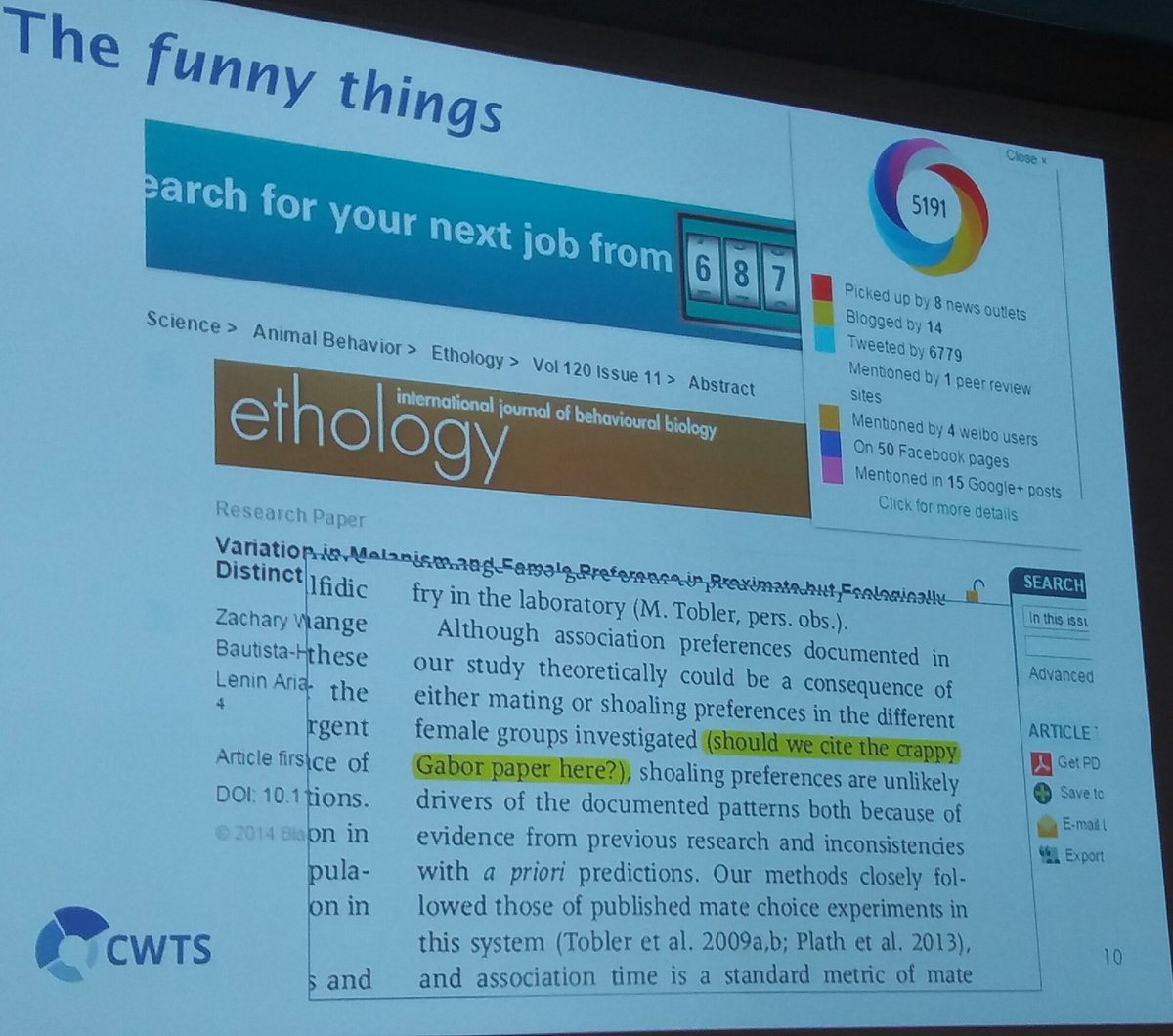 #oai10 Costas: does it count as a citation? #altmetrics #openscience <br>http://pic.twitter.com/4LGok87wvU