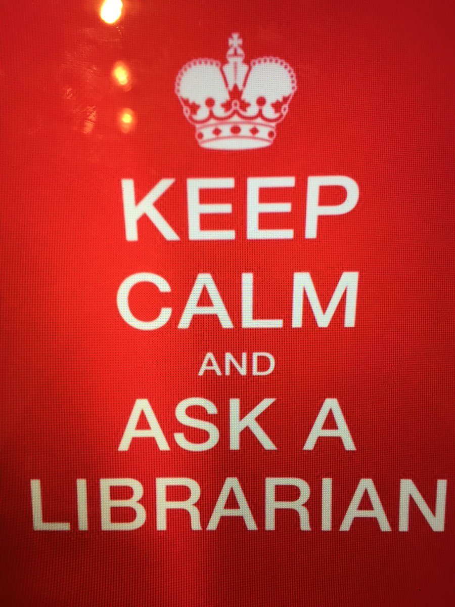 Karma &amp; calmness: ask a #Librarian <br>http://pic.twitter.com/eHLtTduL9m