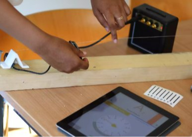 Make a 1 string guitar to learn about waves,oscillation,frequency&amp;resonance! Visit  http:// doitkits.com  &nbsp;   for more info #Science #TechWeek<br>http://pic.twitter.com/lRKg7V5s6r