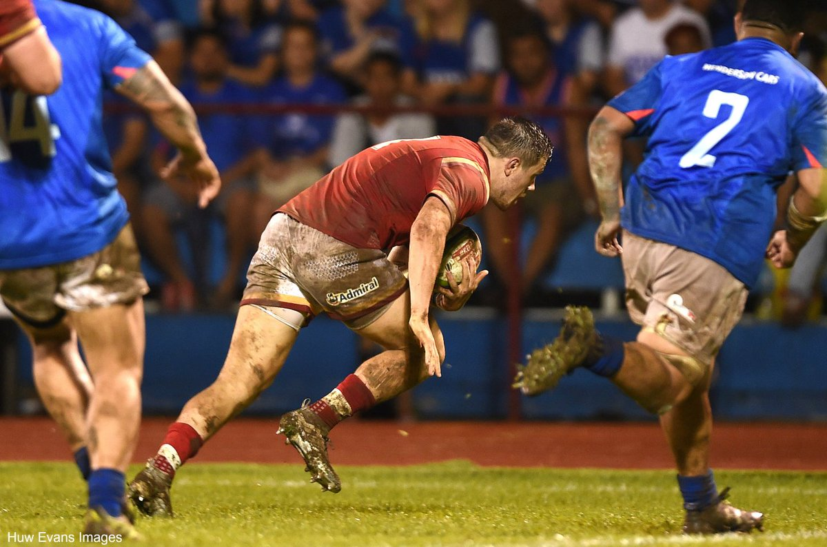 FT: Samoa 17-19 Wales  Steff Evans scores two tries as Wales twice come from behind to win in Apia #SAMvWAL  More: https://t.co/V1LuTVSmyG