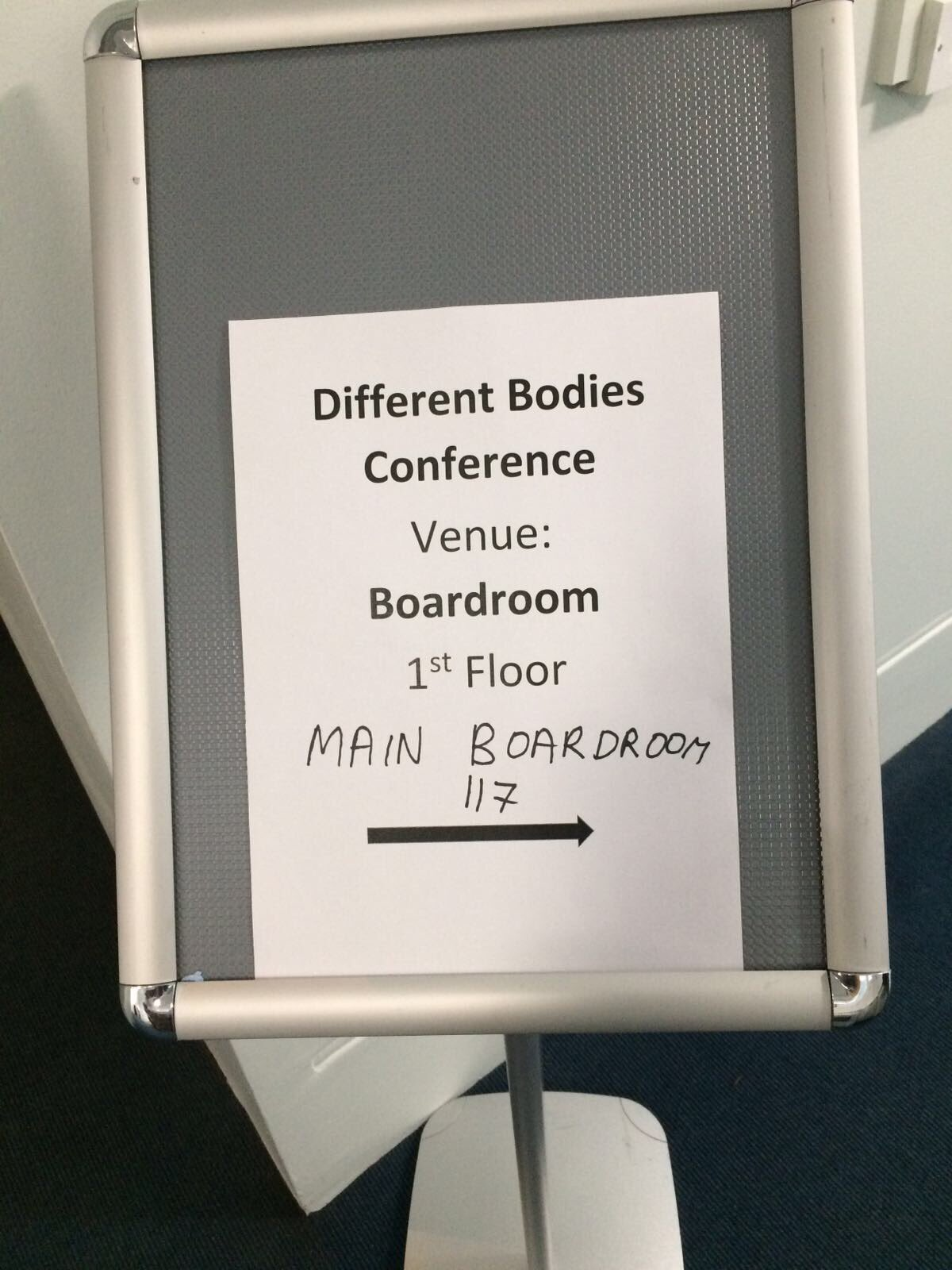 Really looking forward to some interesting panels/keynotes from specialists today @UniWestminster #DifferentBodies https://t.co/DNgYKvmSrj