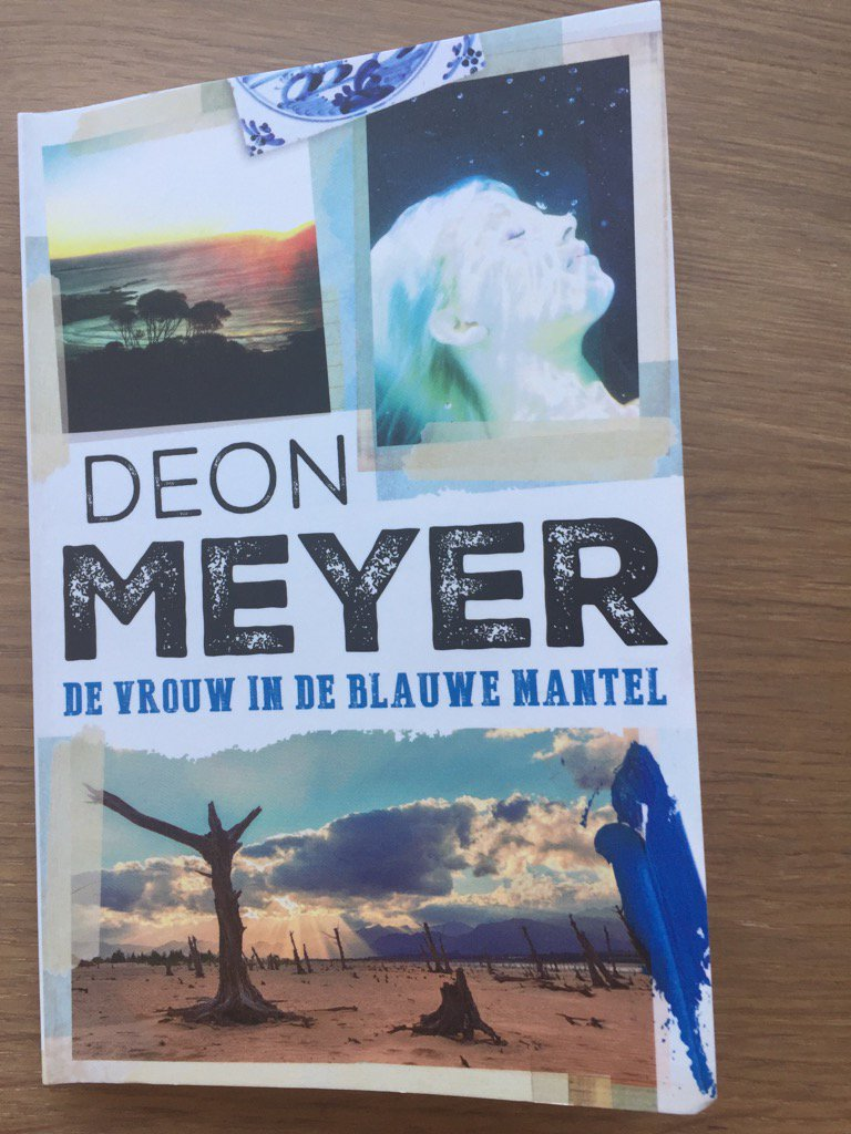 Great present from Amsterdam! A new Deon Meyer specially written by invitation for the Dutch Week of the Thriller https://t.co/2ruHgQChIz