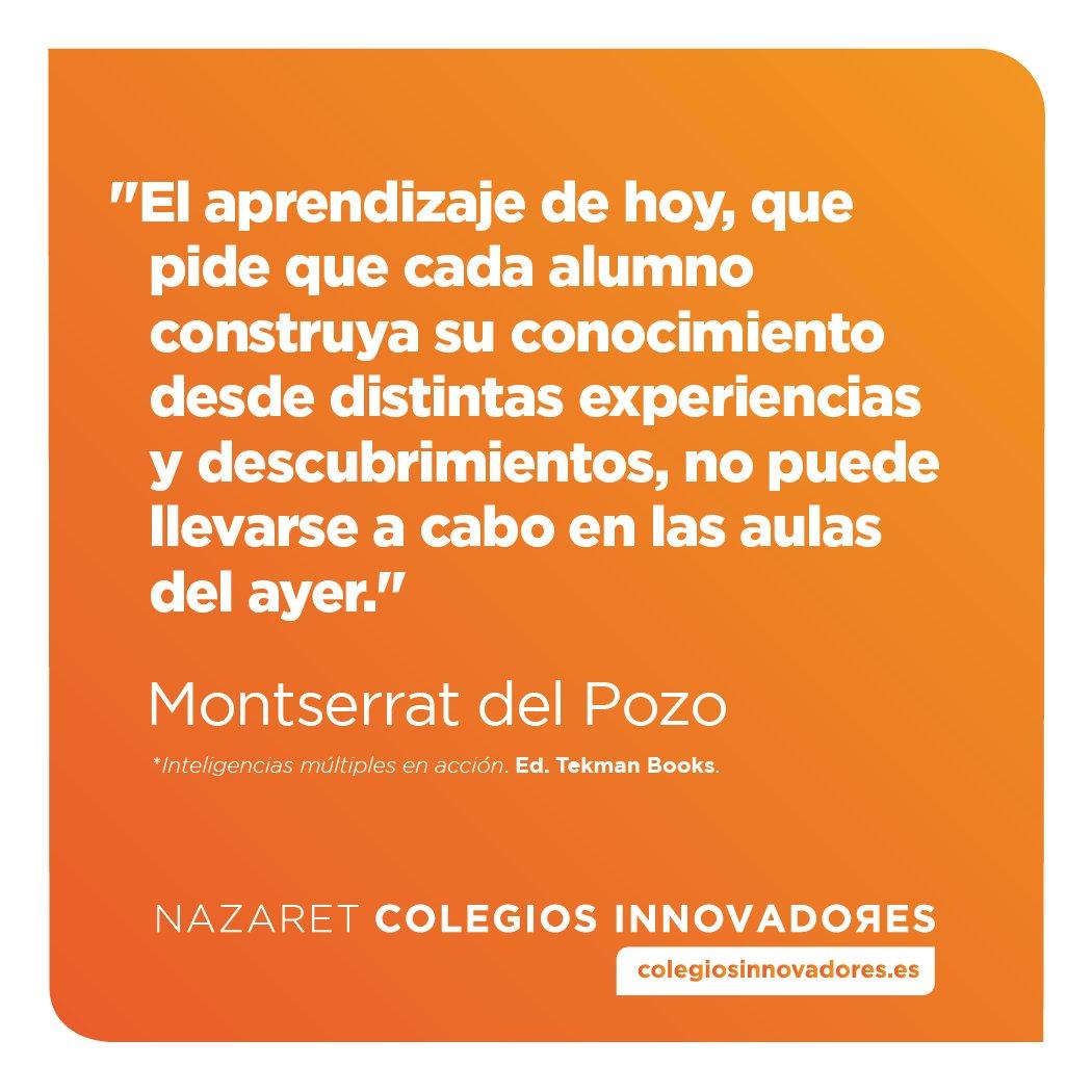 ¡#FelizFinde a tod@s! #InnovacionEducativa @montsedelpozo #Aprendizaje #ColegiosInnovadores #Educacion #Frases <br>http://pic.twitter.com/2wp9rmpZmV