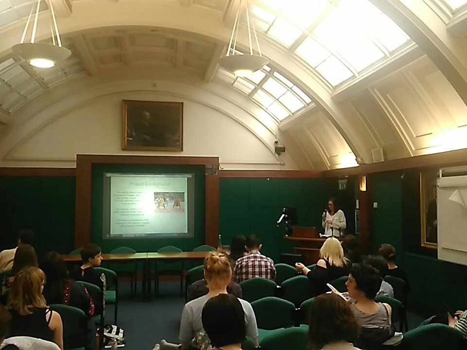 @pasccalproject  are now presenting their research at #differentbodies https://t.co/MceiAwD6oN
