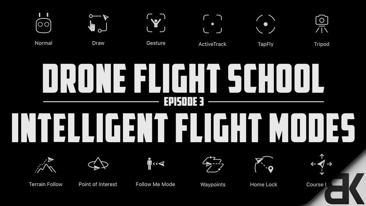 Flying a #drone has never been easier. Watch this great #video guide to all 12 @DJIGlobal Intelligent Flight Modes  http:// buff.ly/2rU5Bic  &nbsp;  <br>http://pic.twitter.com/7MyJh2m2mE