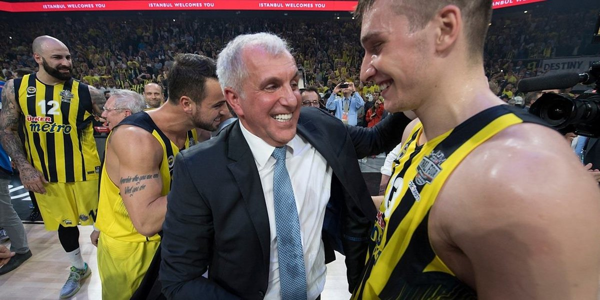 Tribute to the Champs: coach Obradovic 🏆...