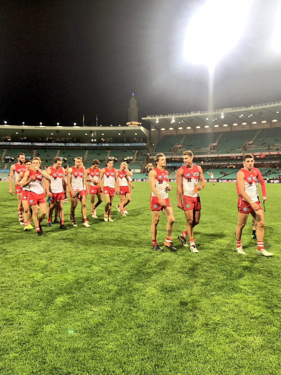 Our NEAFL side with a big last quarter. They come away with a 42-point win over Sydney Uni. Swans 15.16.106 Uni 9.10.64
