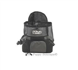 POOCH POUCH FRONT CARRIER- GRAY! Visit:   #dogs #puppy #dogsoftwitter #dogcarrier @PoshPuppy