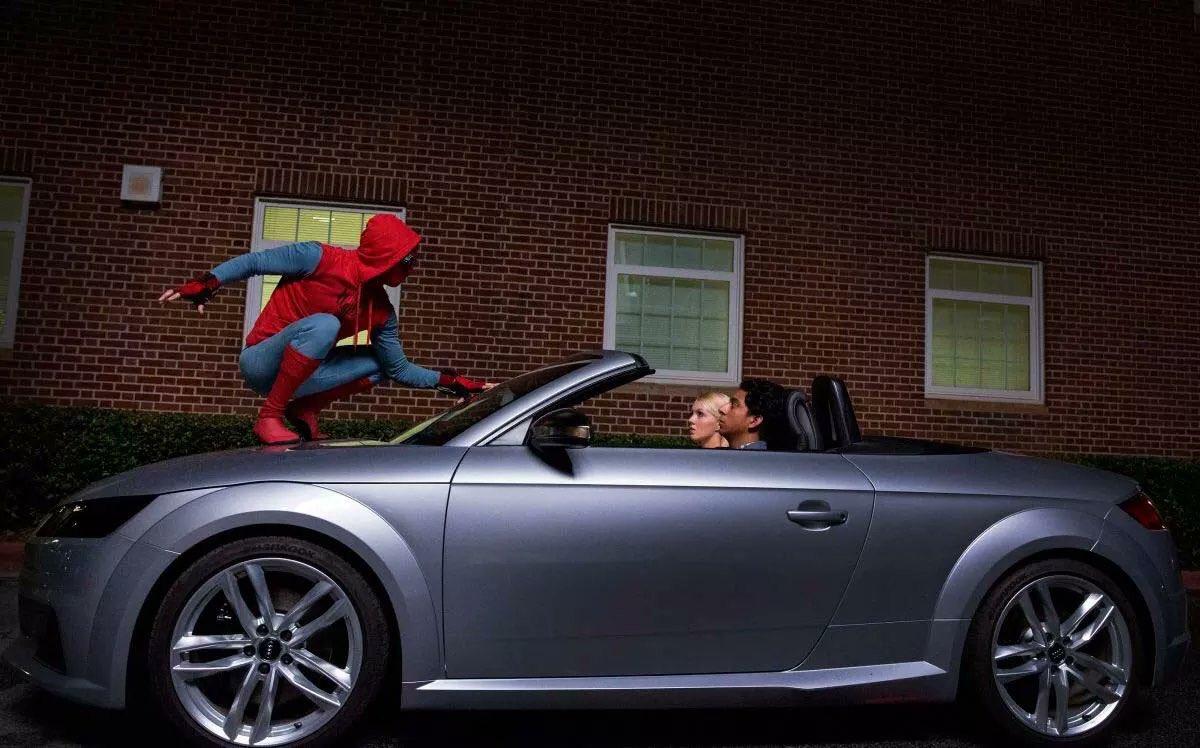 #SpidermanHomecoming Nueva imagen del hombre de araña en acción