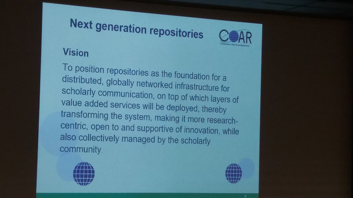 #Scholarly communication might be blown up by repositories in the future? Eloy Rodriguez in #oai10 #openscience #openaccess<br>http://pic.twitter.com/gdtXwMV6Y3