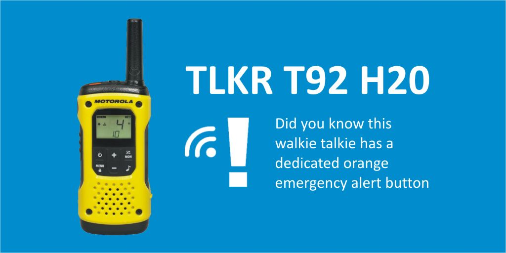 #446Friday Did you know the Motorola TLKR T92 H20 #WalkieTalkie is #IP67Rated. Learn More https://t.co/OyXPEwOUxo #sports #leisurecentre