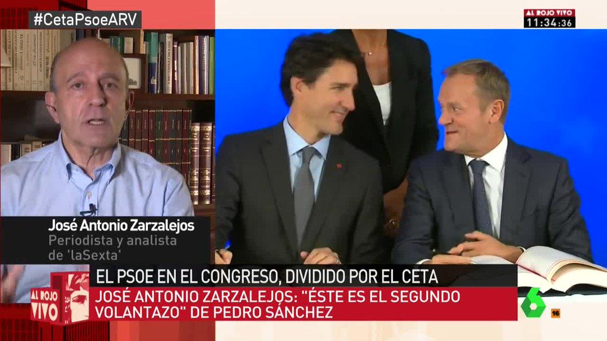 🔴  Zarzalejos: 'Este es el segundo volantazo de Pedro Sánchez' #CetaPs...