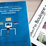 On parle de nous à #BoulogneBillancourt 👌! Merci à @BoulognePlus pour cette belle visibilité👏. #TPE #PME formez-vous au #numérique 📱🎓!