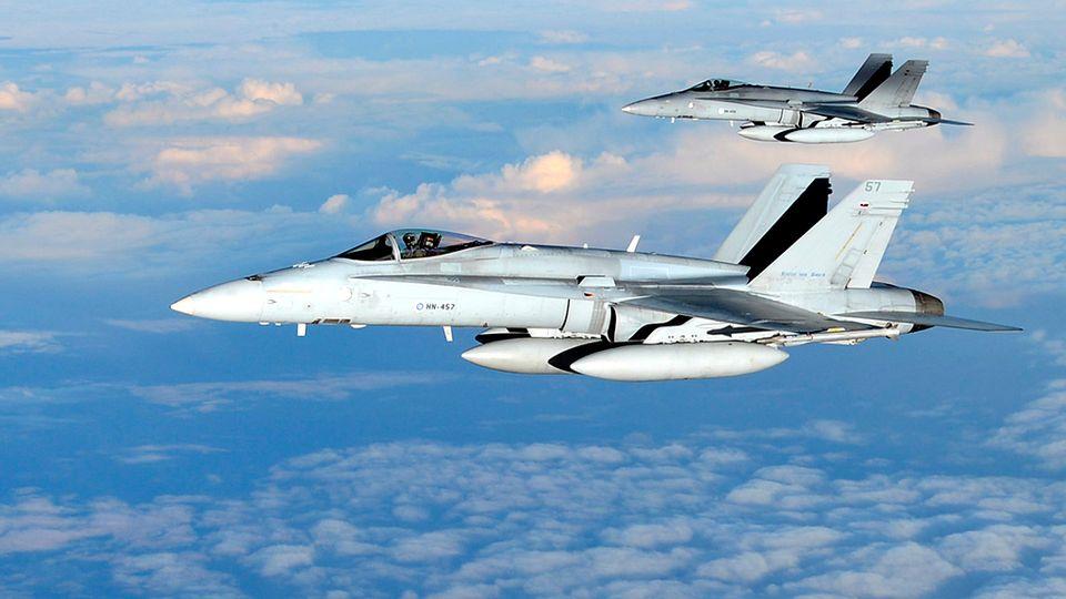 ВПС Фінляндії зафіксували зростання активності літаків РФ біля кордонів країни