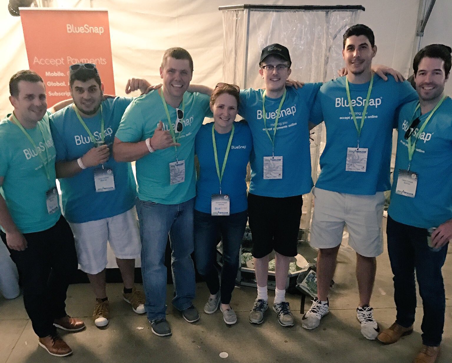 The snap team at #BTJ2017! We had a blast and thanks for coming by to talk payments and #makemomoney https://t.co/7gNLWg1U6M
