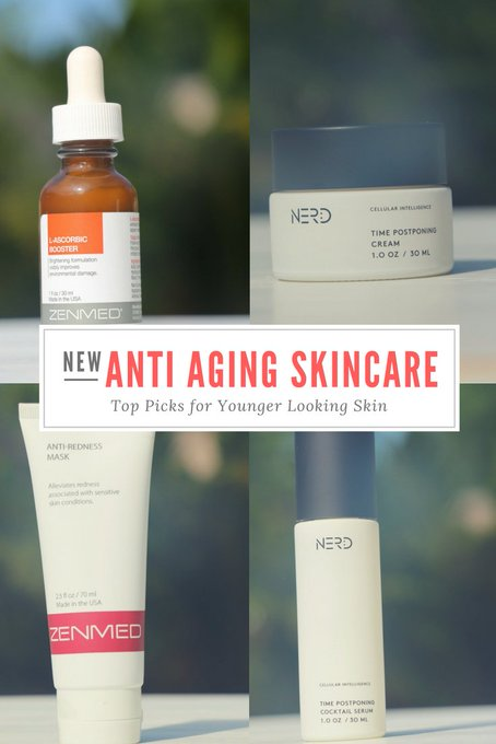 New Anti-Aging Skincare Must Haves