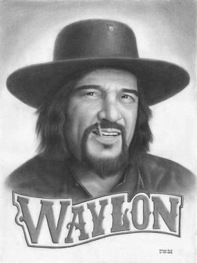 HAPPY 80th BIRTHDAY to one of my favorite country singer\s Waylon Jennings. Gone but not forgotten 1937 - 2002